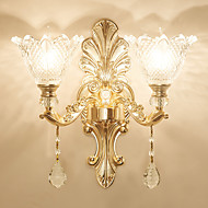 Creative Retro / Vintage / Novelty Wall Lamps & Sconces Dining Room / Indoor / Shops / Cafes Metal Wall Light IP 44 220-240V 40 W / E14