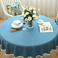 billige Bordduker-Moderne Bomull Rund Duge Geometrisk Borddekorasjoner 1 pcs