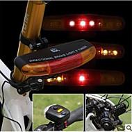 billige Sykkellykter og reflekser-Bike Horn Light LED Sykkellykter Sykling Vanntett, Holdbar AA 150 lm Hvit / Rød Sykling
