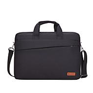 Χαμηλού Κόστους Τσάντες Φορητών Υπολογιστών-Καμβάς Τσάντα φορητού υπολογιστή Φερμουάρ Μαύρο / Βαθυγάλαζο / Ουρανί