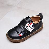 baratos Sapatos de Menino-Para Meninos Sapatos Couro Ecológico Primavera & Outono / Primavera Conforto Rasos Caminhada Combinação para Infantil Preto / Marron