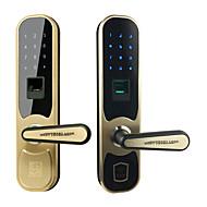 billige Intelligente låser-Factory OEM Rustfritt Stål Intelligent Lås Smart hjemme sikkerhet System Lavt batteri påminnelse / Anti peeping passord / Flere dørkombinasjonsmodus Hjem / Hjem / kontor / Soveværelse (Lås opp modus
