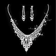 Mulheres Clássico Conjunto de jóias - Imitação de Pérola Criativo Doce, Fashion, Elegante Incluir Colar Prata Para Casamento Festa