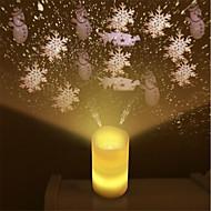 billiga Belysning-1pc flameless ljus ledde ljus projektor med fjärrkontroll fest bröllop jul natt ljus projektor för barn vuxna som bor sovrum dekoration