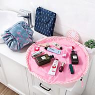 billige Lagring og oppbevaring-dyr flamingo kosmetikkpose profesjonell drawstring makeup veske kvinner reise make up organisator lagring pung toiletry vask