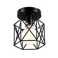 billige Taklamper-16cm vintage mini maleri metall bur flush mount taklampe for stue / soverom / spisestue / kjøkken