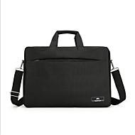 billige Computertasker-Oxfordtøj Laptoptaske Lynlås Sort / Brun
