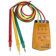 tanie Instrumenty elektryczne-1 pcs Tworzywa sztuczne Tester baterii / Tester pojemnościowy rezystancji Odmierzanie / Wykrywanie obwodu