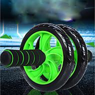 """baratos Equipamentos & Acessórios Fitness-5.91""""(Aprox.15cm) Rolo de roda ab Com 1 Cartolina de Passepartout Confortável, Não escorregadio, Estabilidade Alongamento, Melhorando as dobras para trás PVC (Polyvinylchlorid), PP+ABS Para Fitness"""