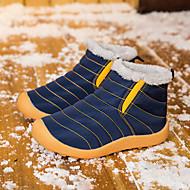 baratos Sapatos de Menina-Para Meninos / Para Meninas Sapatos Couro Ecológico Inverno / Outono & inverno Botas de Neve Botas Caminhada Combinação para Infantil / Adolescente Azul Escuro / Rosa claro / Botas Curtas / Ankle