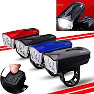 billige Sykkellykter og reflekser-Bike Horn Light LED Sykkellykter Sykling Vanntett, Bærbar, Fjernkontroll 360 lm Sykling