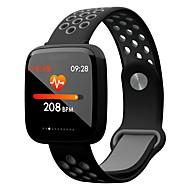 Smart Armbånd YY-F15 for Android iOS Bluetooth Sport Vandtæt Pulsmåler Blodtryksmåling Touch-skærm Skridtæller Samtalepåmindelse Aktivitetstracker Sleeptracker