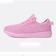 tanie Obuwie męskie-Unisex Komfortowe buty Siateczka Lato Adidasy Czarny / Szary / Różowy