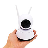 billige Innendørs IP Nettverkskameraer-hqcam® hd 1080p innendørs hjem wifi dome ip kamera v380 trådløs baby monitor h.265 ir pan tilt cctv kamera lyd minne spor