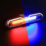 preiswerte -Fahrradrücklicht LED Radlichter Radsport Wasserfest, Farbverläufe Wiederaufladbare Li-Ion Batterie 150 lm Wechsel Radsport