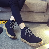 baratos Sapatos de Menina-Para Meninos / Para Meninas Sapatos Couro Ecológico Primavera & Outono / Primavera Verão Conforto / Botas da Moda Botas Caminhada Ziper / Cadarço para Infantil Preto / Amarelo / Botas Curtas / Ankle