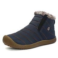 baratos Sapatos Masculinos-Homens Botas de Neve Sintéticos Inverno Esportivo / Casual Botas Caminhada Manter Quente Preto / Azul Escuro / Verde Tropa
