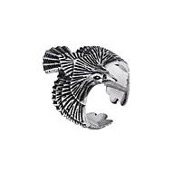 Pánské Retro styl Prsten Titanová ocel Punk Guro Lolita Rococo Fashion Ring Šperky Zlatá / Stříbrná Pro Dovolená Bar 7 / 8 / 9 / 10 / 11