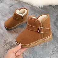 baratos Sapatos de Menina-Para Meninos / Para Meninas Sapatos Microfibra Inverno Botas de Neve Botas para Infantil / Bébé Cinzento / Marron / Rosa claro