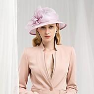 %100 Keten Kentucky Derby Şapkası / Şapkalar ile Fiyonk 1pc Düğün / Parti / Gece Başlık