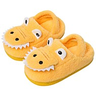 cheap Kids' Slippers-Boys' / Girls' Shoes Faux Fur Fall & Winter Comfort Slippers & Flip-Flops for Toddler Yellow / Green / Blue