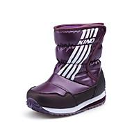baratos Sapatos de Menina-Para Meninos / Para Meninas Sapatos Couro Ecológico Inverno / Outono & inverno Botas de Neve Botas Caminhada Combinação para Infantil / Adolescente Azul Escuro / Roxo / Vinho / Botas Cano Médio