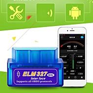 mini elm 327 bluetooth obd2 obdii v2.1 auto dijagnostičko sučelje alat auto otkrivanje kvarova vozila kvara čitač koda skener