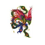 billiga Temporära tatueringar-1 pcs tillfälliga tatueringar Vattenavvisande / Bästa kvalitet / Kreativ Kropp / tillbaka Vattenöverföringsklistermärke Tatueringsklistermärken
