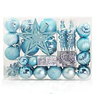 tanie Dekoracje-Choinki świąteczne Święto Plastik Kwadrat Impreza Świąteczna dekoracja