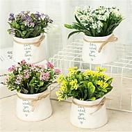 billige Kunstig Blomst-Kunstige blomster 1 Afdeling Klassisk / Enkel minimalistisk stil / Moderne Vase Bordblomst