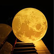 billige Lamper-12cm 3d månelampe soverommet bokhylle natt lys kreativt nyttårs julegave