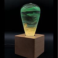 billige Globepærer med LED-E.P.LIGHT 1pc 3 W 300 lm E26 / E27 LED-globepærer T45 1 LED perler Dyp Led Kreativ / Nytt Design / Dekorativ Varm hvit 90-240 V