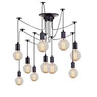 olcso -QINGMING® 10-Light Mini Csillárok Süllyesztett lámpa Festett felületek Fém Mini stílus 110-120 V / 220-240 V Az izzó nem tartozék / VDE / E26 / E27