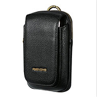 Men's Bags PU(Polyurethane) Mobile Phone Bag Zipper Black / Brown