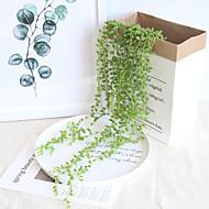 Fleurs artificielles 1 Une succursale Fixation Murale Suspendu Rustique Mariage Plantes Guirlande et Fleur Murale