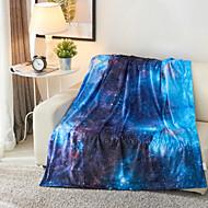 preiswerte Heimtextilien-Superweich, Bedruckt Galaxis / 3D-Druck Polyester / Polyamid Decken