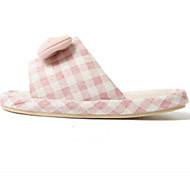 baratos Sapatos de Menina-Para Meninas Sapatos Poliester Primavera & Outono Conforto Chinelos e flip-flops para Infantil / Adolescente Verde / Rosa claro