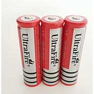ieftine -18650 baterie Baterie litiu-ion reîncărcabilă 4200.0 mAh 4 buc Reîncărcabil pentru Camping/Cățărare/Speologie