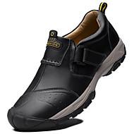 baratos Sapatos Masculinos-Homens Sapatos de couro Pele Inverno Clássico / Casual Tênis À Prova-de-Água Preto / Café