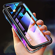 cheap -Case For Apple iPhone XR / iPhone XS Max Shockproof / Transparent / Magnetic Full Body Cases Solid Colored Hard Tempered Glass for iPhone XS / iPhone XR / iPhone XS Max