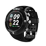 NO.1 F18 سمارت ووتش Android iOS بلوتوث GPS رياضات ضد الماء رصد معدل ضربات القلب المشي عداد الخطى تذكرة بالاتصال متتبع النشاط متتبع النوم / رمادي داكن / إسبات الطويل / تذكير المستقرة / ساعة منبهة