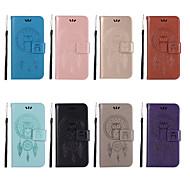 billiga Mobil cases & Skärmskydd-fodral Till Xiaomi Redmi Note 4X / Redmi 5A Plånbok / Korthållare / med stativ Fodral Uggla Hårt PU läder för Redmi Note 5A / Xiaomi Redmi Note 5 Pro / Xiaomi Redmi Note 4X / Xiaomi Redmi 4A