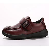 baratos Sapatos de Menino-Para Meninos Sapatos Pele Napa Primavera / Outono Conforto Rasos para Infantil Amarelo / Azul / Vinho