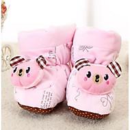 baratos Sapatos de Menina-Para Meninos / Para Meninas Sapatos Camurça Inverno Conforto Rasos para Bébé Rosa claro
