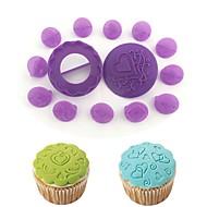 billige Bakeredskap-Bakeware verktøy Plast Kake / Til Småkake / For kjøkkenutstyr Cake Moulds / Dessert dekoratører 14pcs