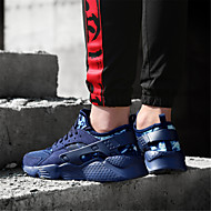 baratos Sapatos Femininos-Mulheres Com Transparência Outono Casual Tênis Corrida Sem Salto Preto / Azul Escuro / Vermelho
