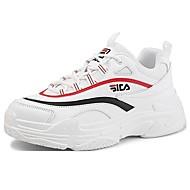 baratos Sapatos Masculinos-Homens Sapatos Confortáveis Couro Inverno Esportivo / Casual Tênis Não escorregar Branco / Preto / Khaki