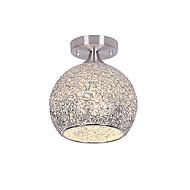 billige Taklamper-QIHengZhaoMing Flush Mount Lighting Omgivelseslys galvanisert Metall 110-120V / 220-240V Varm Hvit / Hvit