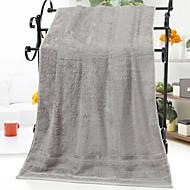 tanie Ręcznik kąpielowy-Najwyższa jakość Ręcznik kąpielowy, Solidne kolory 100% włókna bambusowego Łazienka 1 pcs