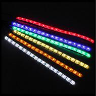 zdm 50cm 5050 dc12v étanche ip65 pc ordinateur led lumière de fond de bande flexible